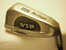 **MACGREGOR JACK NICKLAUS VIP #10 IRON STIFF MENS R/H- FREE SHIPPING IN USA - **