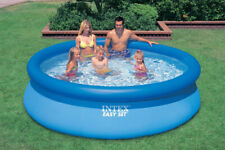 8 feet large outdoor summer inflatable pool for adults and children 244*76