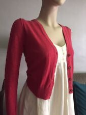 MANGO Cardigan for Women (Red) - pre-loved.  Size (EUR S)
