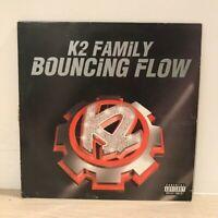 "K2 Family - Bouncing Flow 12"" UK Garage Vinyl Relentless Original + Basement Mix"