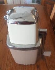 Vintage Swing-A-Way Ice Grinder Appliance