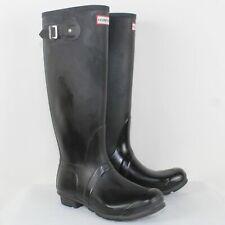 Hunter Ladies Gray Rain Boots Size 7M/8F/ EU 39