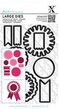 Troqueles De Corte X 10 Pc Conjunto de uso mixto Rosetas Xcut Grande o la mayoría de las máquinas de troquelado