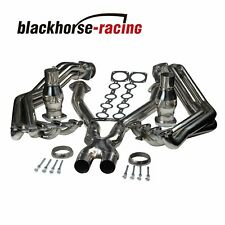 For Chevy Corvette 97-04 C5 LS1 L6 Stainless Exhaust Headers Manifolds & X Pipe