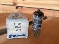 VALVE TUBE -  PINNACLE  - TYPE   12BA6-HF93 .       -  H107