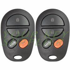 2 New Keyless Entry Remote Key Fob for Toyota Avalon Solara GQ43VT20T