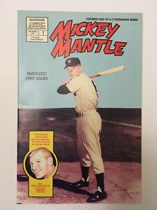 Mickey Mantle Comics #1 & #2 and Duke Snider Comic #1 Factory Sealed