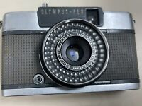 Olympus Pen EES-2 35mm camera with Zuiko 30mm 1:2.8 Lens (Untested)