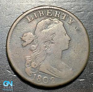 1802 Draped Bust Large Cent --  MAKE US AN OFFER!  #K4665
