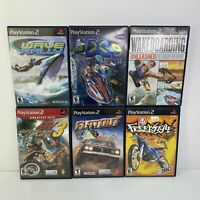 Sony Playstation 2 (PS2) Game Lot Bundle Of 6 *Tested And Guaranteed* DA92984
