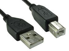 1.8m USB 2.0 High Speed Cable Printer Lead A to B Black Epson Kodak HP 2m 6ft