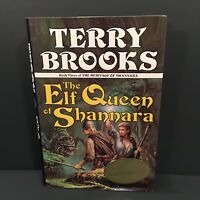 The Elf Queen of Shannara Signed by Terry Brooks 1st/1st Heritage of Shannara #3