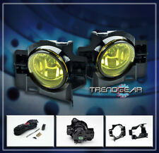 BUMPER YELLOW FOG LIGHTS LAMPS KIT W/BULB+SWITCH FOR 2008-2012 ALTIMA COUPE 2DR