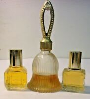 Vintage AVON FRAGRANCES - lot of 3 - To a Wild Rose - Imari - Fifth Avenue