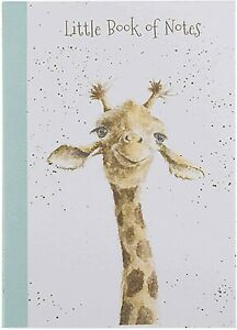 Wrendale Design Stand out Giraffe Notebook A6 Lined Pad FSC Paper 15x10.5cm