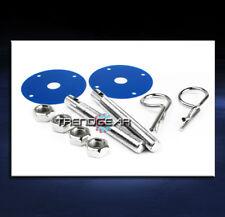 UNIVERSAL RACING HOOD PIN LOCK KIT BLUE CSX EL MDX RDX RL A3 A5 S5 Z3 Z4 DTS ION