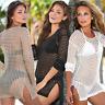 Sexy Women Swimwear Lace Crochet Bikini Cover Up Bathing Suit Summer Beach Dress