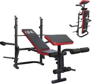 Banc de musculation multifonction pliable entraînement complet fitness sport ABS