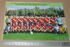 CLIPPING POSTER FOOTBALL 1980-1981 D2 FC GRENOBLE