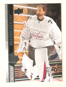 BRADEN HOLTBY 2020-21 UPPER DECK EXTENDED ALL-STAR BASE CARD #669 CAPITALS