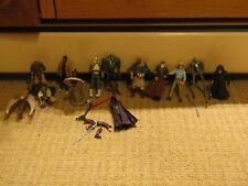 Lot of 11 used and incomplete Star Wars figures Jurassic Park Alan Grant