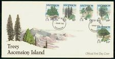 Mayfairstamps Ascension Island 1985 Trees Combo First Day Cover wwh30641