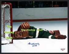 Gump WORSLEY SIGNED North STARS 8X10 KNOCKED Out! COLD as ICE w/STL COA L@@K WOW