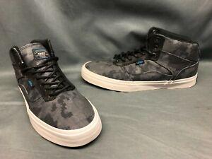 Vans Men's Bedford Hyperstealth Casual Sneakers Black Blue White Size 10 NWOB!