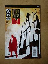 PUNISHER MAX #1 FIRST PRINT MARVEL COMICS (2010) MAX COMICS