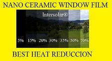 "Window Film 70% Nano Ceramic Tint  Residential Auto  30""x50'2ply  Intersolar®"