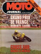 MOTO JOURNAL  362 HONDA TL 200 Motobecane 95 TT DUCATI 900 NCR GP Autriche 1978