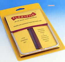 Albion Alloys 700 - Flex-i-File #700 Tool + Starter Assortment Grit Tape Pack