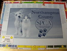 NORTHAMPTON COUNTY PA SPCA GAME LOCAL ADS NEW UNUSED HELPING PETS  IN NEED DOGS