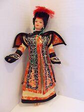 Chinese Empress Barbie doll Asian Royalty Oriental Kimono great eras collection