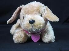 2008 MATTEL BARBIE BARKING GOLDEN RETRIEVER LAB PUPPY DOG LIGHT UP HEART PLUSH