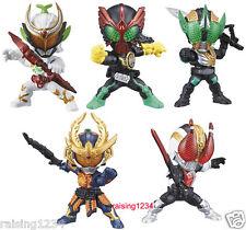 BANDAI Kamen Masked Rider Advance Gashapon Figure 2 (Set 5 pcs) Gaim OOO Den-O