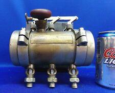 New listing Lunkenheimer 3 Feed Gravity Gang Oiler Steam / Gas Engine - Very Nice