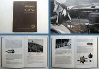 BMW Typ 309 mit Schwebe-Motor Betriebsanleitung Bedienungsanleitung 1935