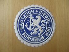 (32790) Siegelmarke - Gemeinde Gautzsch