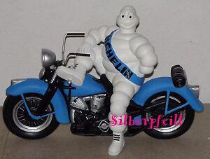 Deko Figur Michelin Männchen Harley Davidson Motorrad Werbefigur Motorbike Rep B