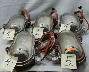 Industrial Pendant Light Factory Lamps - Bunker Lamp - Loft Ceiling Light