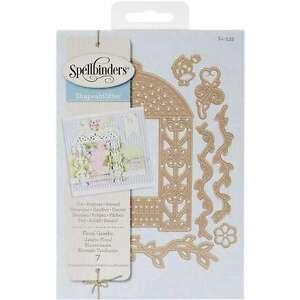 Spellbinders Shapeabilities Dies- Floral Gazebo