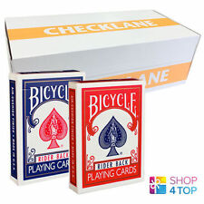 12 DECKS BICYCLE 807 RETRO TUCK RED AND BLUE PLAYING CARDS MAGIC SEALED BOX CASE