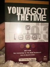 You've Got The Time 40-day plan Bible on Audio CD.   b240