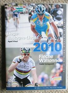 2010 Liege-Bastogne-Liege Fleche-Wallone World Cycling Productions 2 DVD clean