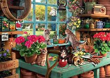Puzzle RAVENSBURGER 1000 pezzi-is he watching? (53873)