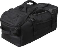 Black Tactical Mission Duffle Carry Bag Multi Functional Convertible  Backpack 518d5df2849d7