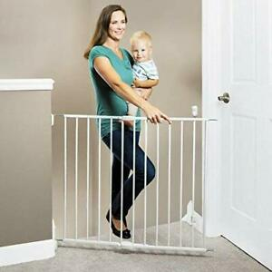 """Toddleroo by North States 40.55"""" Wide Essential Stairway & Walkway Baby Gate ..."""