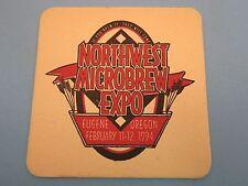 Beer Coaster ~**~ February 1994 Eugene, OREGON Northwest Microbrew Expo Festival
