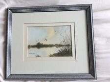 Rod Campbell Watercolours In Excellent Condition With Grey Frames Ready To Hang.